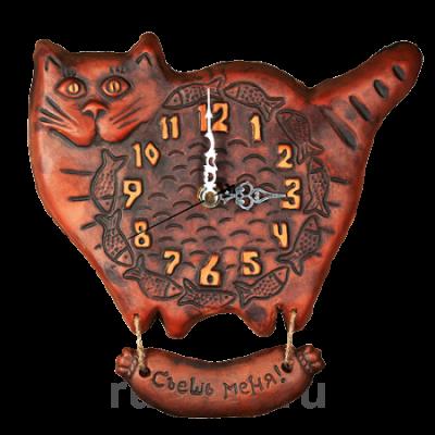 "Часы ""Кот"""