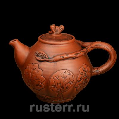 Чайник с листочками 2 л