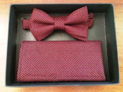 "Набор галстук-бабочка+платок ""Бизнес"""