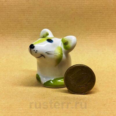 Мышка lime (фарфор)
