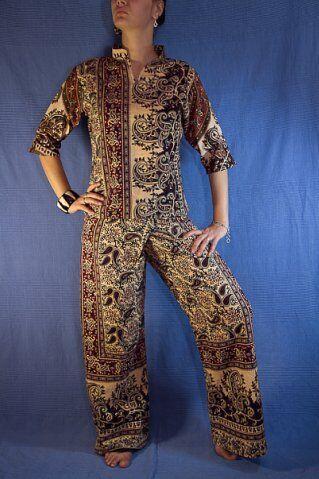 Комплект 2: блузка+штаны